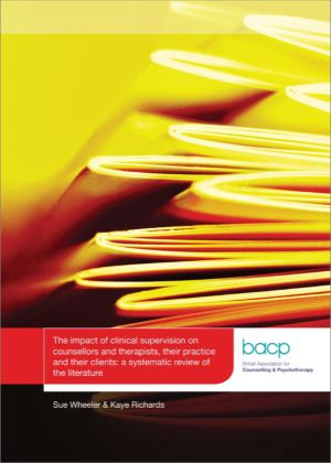 Cover of The impact of clinical supervision literature review