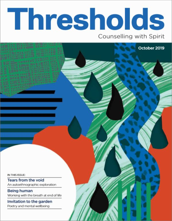 Cover of Thresholds, October 2019