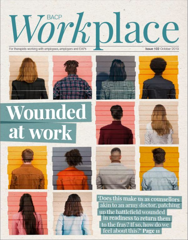 Cover of BACP Workplace October 2019