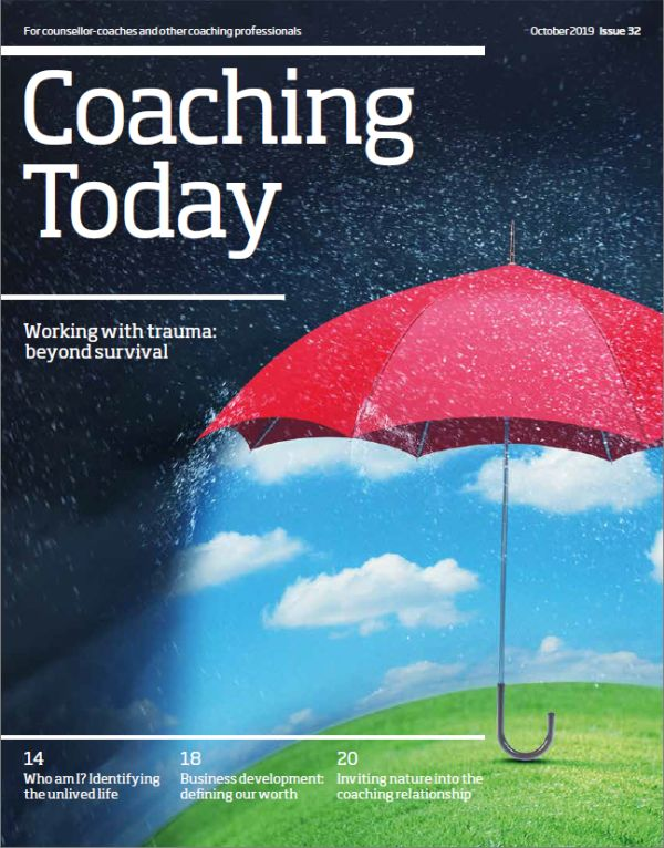Cover of Coaching Today, October 2019 issue