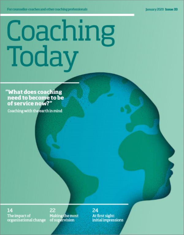 Cover of Coaching Today, January 2020