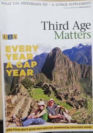 Cover of Third Age Matters magazine