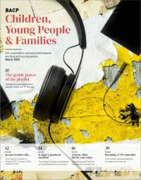Cover of BACP Children Young People and Families, March 2020
