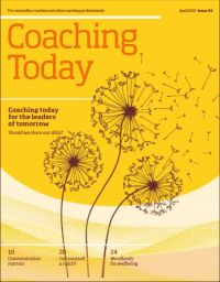 Cover of Coaching Today Apr20