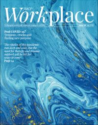 Cover of BACP Workplace July 2020
