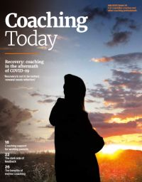 Cover of Coaching Today July 2020