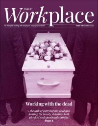 Cover of BACP Workplace October 2020